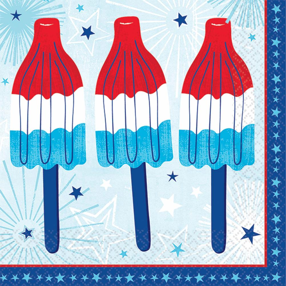 Party Napkins Celebrate Usa Mingle